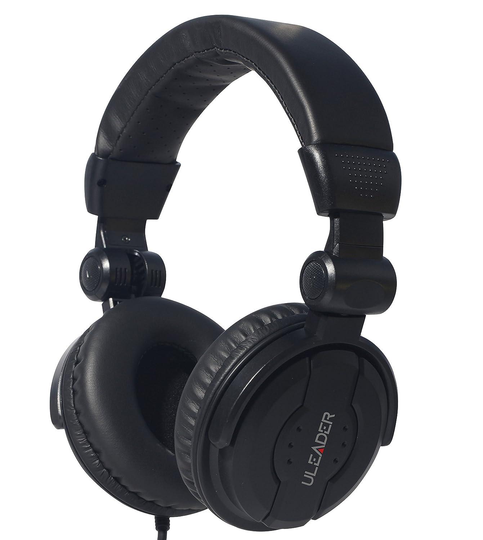 Uleader DJ9400 High-Definition DJ Headphones (DJ9400 Black) Uleader SZ 10772022