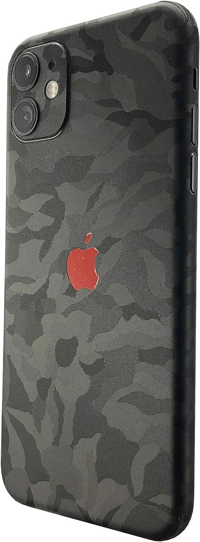 Lot de 2 Shadow. TKCase Skin Film de protection arri/ère pour iPhone 11 carbone