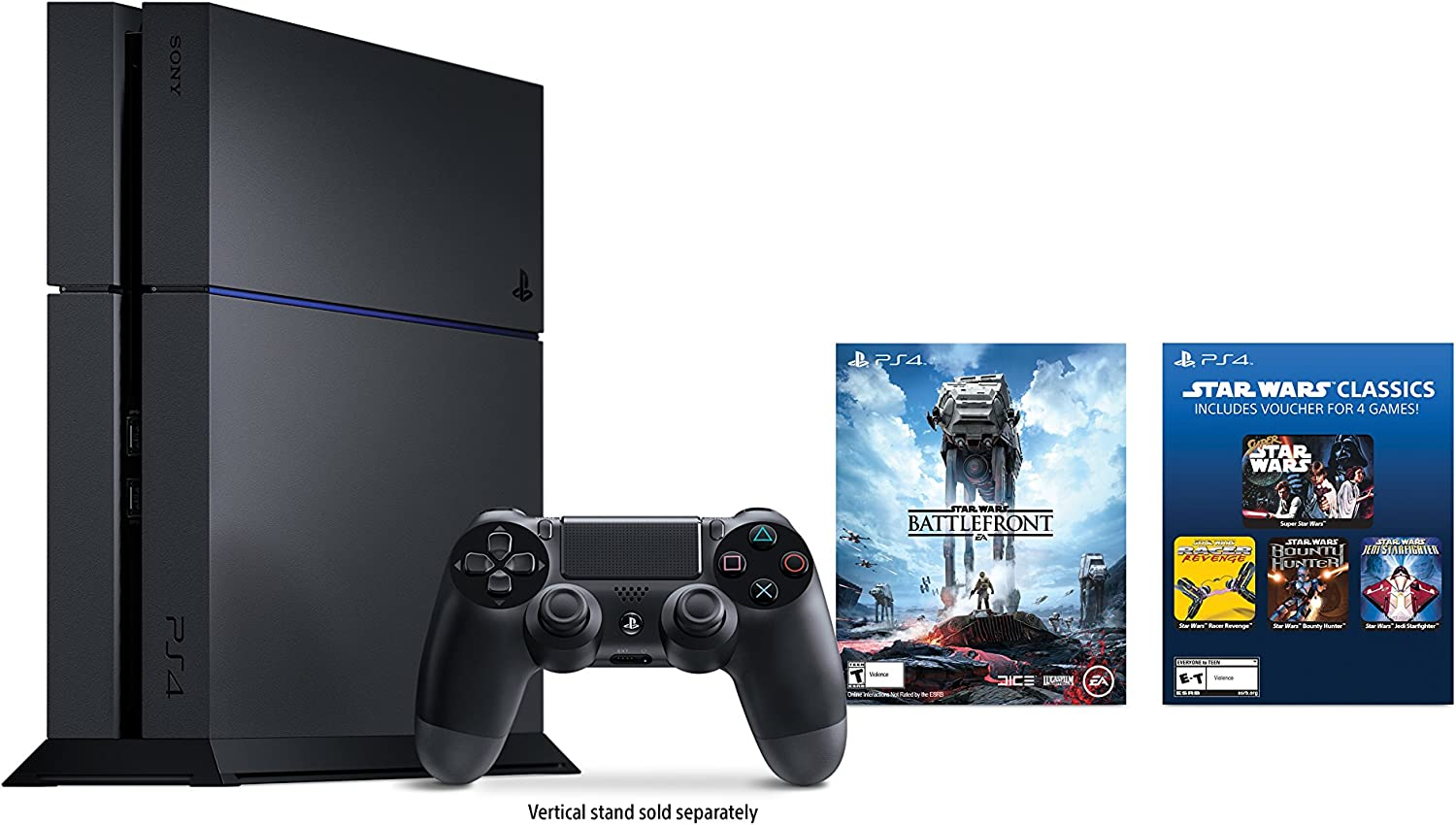 All Playstation 4 Games : Amazon playstation gb console star wars battlefront