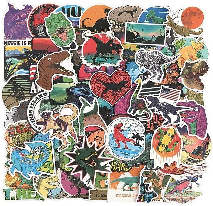 """3"""" Okay Dinosaur Rad Sunglasses Cartoon T Rex Hat Vinyl Sticker"""