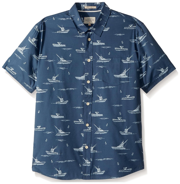 33a75b66 Amazon.com: Quiksilver Men's Fishboats Button Down Shirt: Clothing