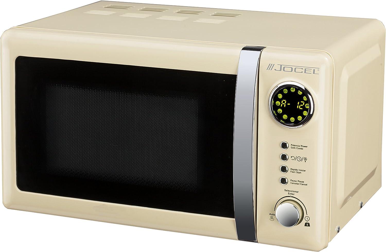 Jocel JMO001351 Microondas beige, 700 W, Aluminio