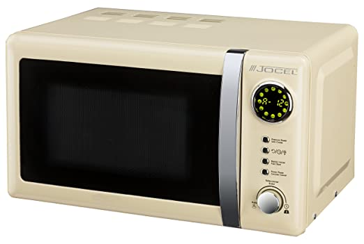 Jocel JMO001351 Microondas beige, 700 W, Aluminio: Amazon.es: Hogar