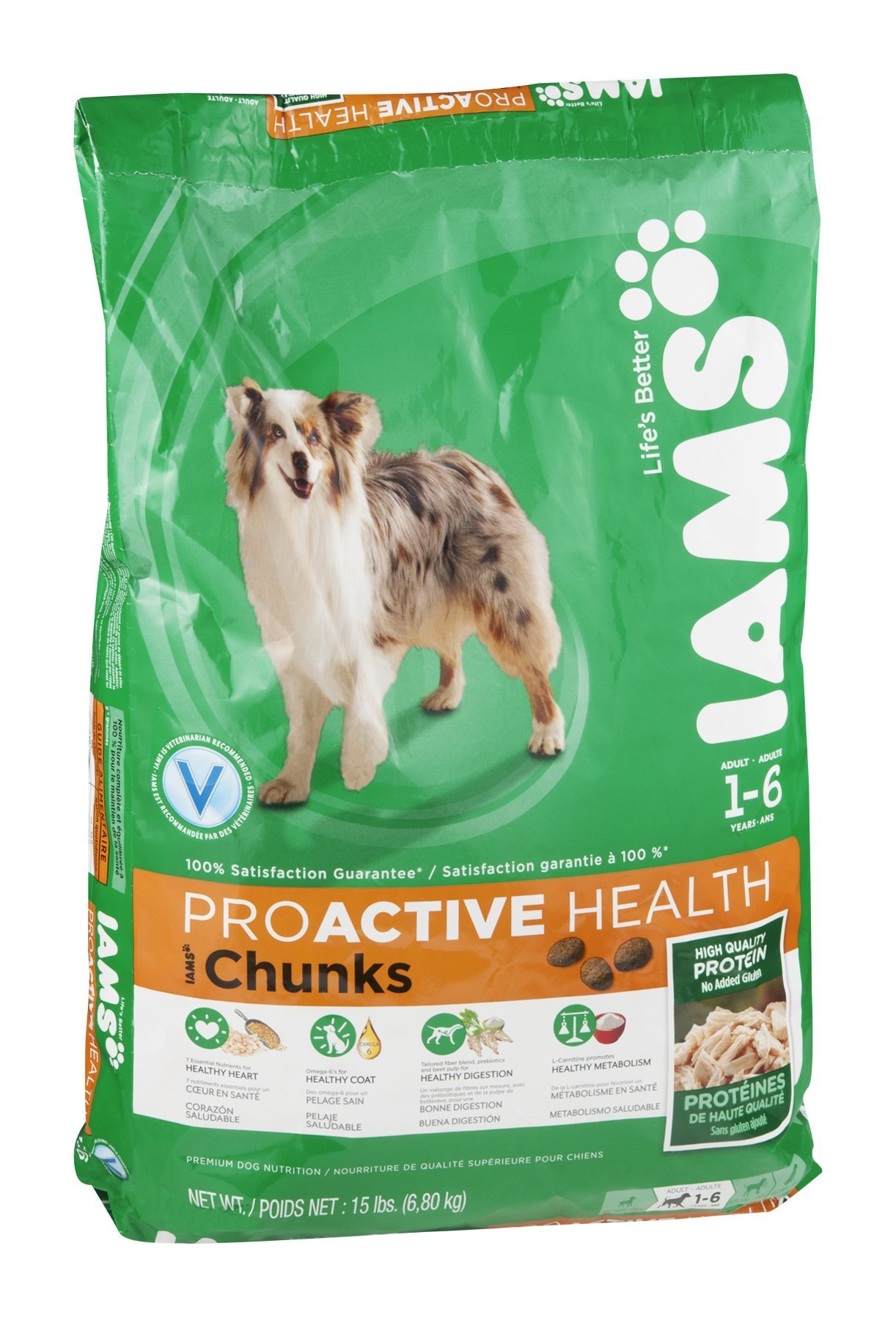 Iams Chunk Dog Food by Iams