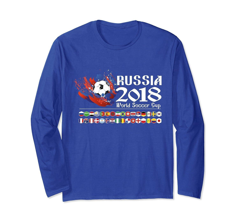 2018 Football Tournament T-Shirt, All 32 Team Flags Jersey-ln