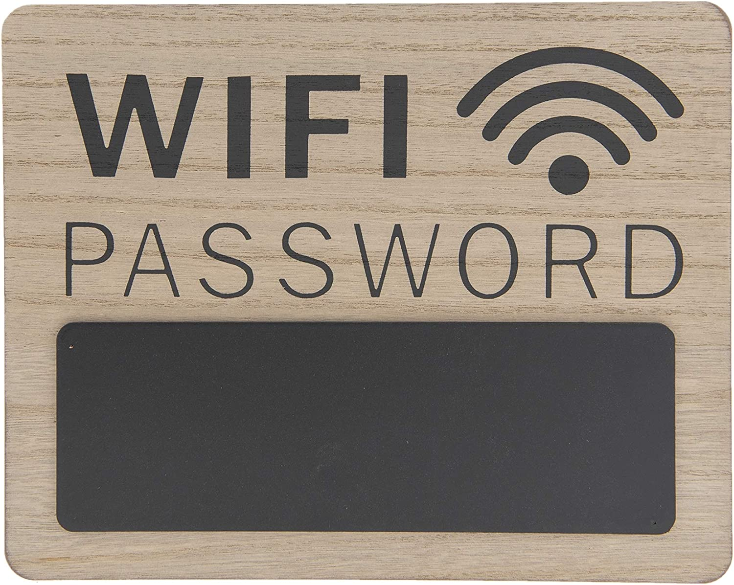 CE - Cartel Vintage Retro, Modelo WiFi Password, Material Madera ...