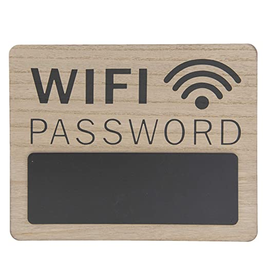 CE - Cartel Vintage Retro, Modelo WiFi Password, Material ...