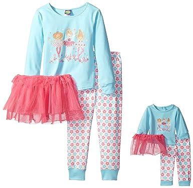Amazon.com  Dollie   Me Girls  Big Ballerina Tutu Sleep Set 995cb62ae