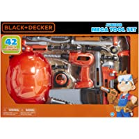 BLACK+DECKER Junior Kids Tool Set - Mega Tool Set with 42 Tools & Accessories! Role Play Tools for Toddlers Boys & Girls…