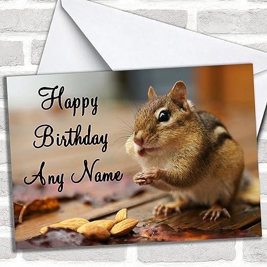 Streifenhornchen Individuell Gluckwunsche Zum Geburtstag Geburtstag