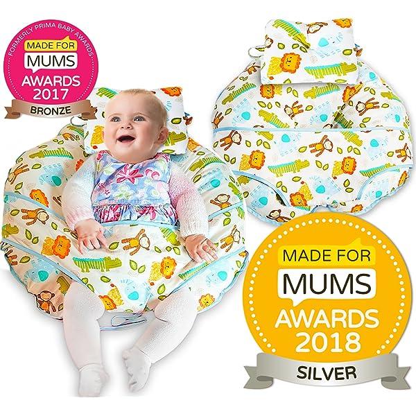 Olmitos Maxi - Almohada maternal, color beige: Amazon.es: Bebé