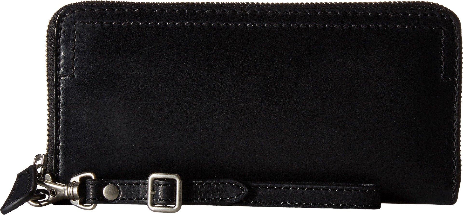 Frye Women's Casey Wristlet Black Handbag