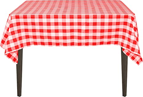 Round TableclothSquare Rectangle Oval Cotton Tablecloth Red Fabric Tablecloth Stars