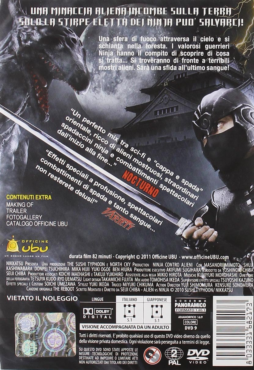 Amazon.com: Ninja Contro Alieni [Italian Edition]: mika ...