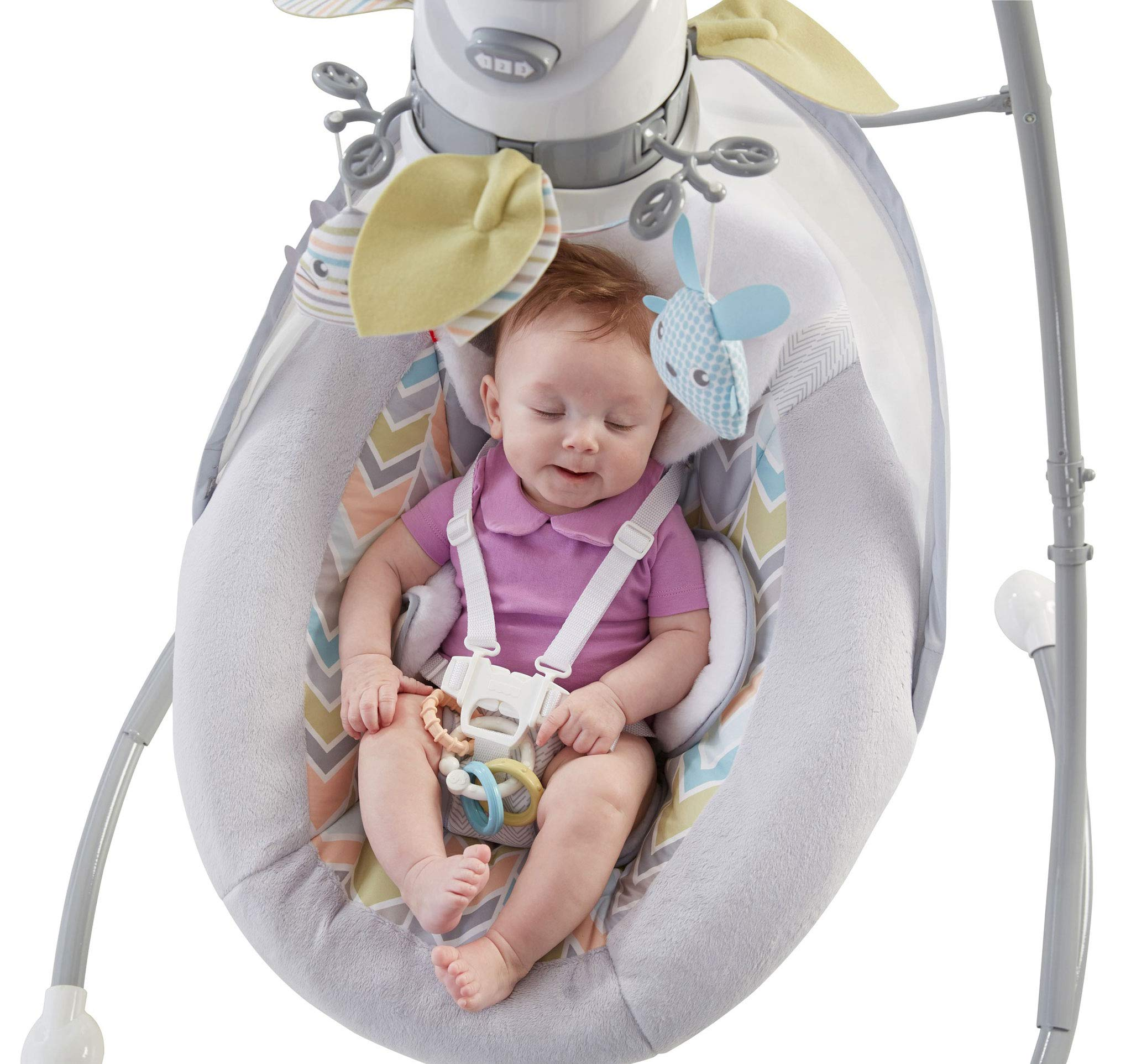 Fisher-Price Sweet Snugapuppy Dreams Cradle 'n Swing by Fisher-Price (Image #8)