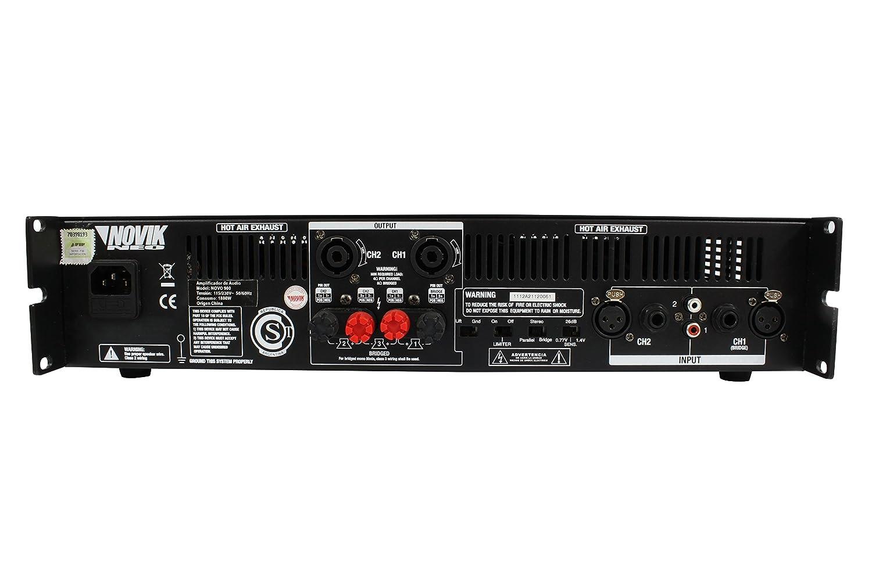 Amazon.com: NOVIK NEO NOVO 900 Power Amplifier 900-Watt RMS ...
