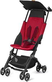 Carrinho de Bebê Pockit+, GB, Vermelho
