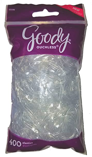 Amazon.com   Goody Ouchless Large Clear Elastic 400 Count   Beauty 570044862b8
