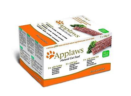 Applaws Paquete de alimentos para gatos, 7 x 100 g