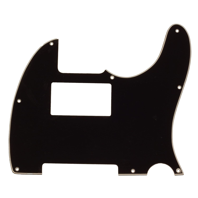 Seismic Audio SAGA36 Black Replacement 3 Ply Humbucker Pickguard for Standard Tele Style Guitar Seismic Audio Speakers Inc.