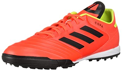 the latest e0895 75c1b adidas Mens Copa Tango 18.3 Turf Soccer Shoe redBlackSolar Yellow, 6.5