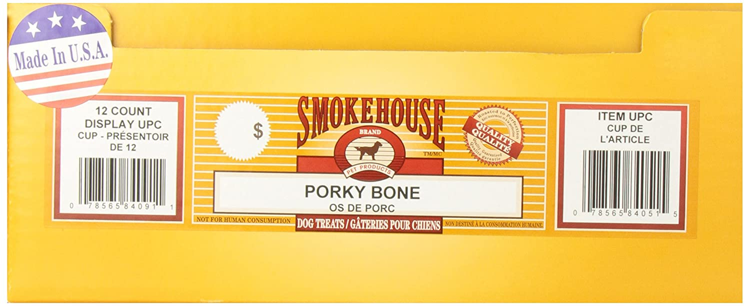 USA MADE MEATY PORKY BONE 12 CT.