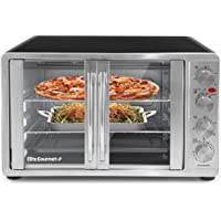 Maxi-Matic ETO-4510M Double Door Toaster Oven with Rotisserie and Convection, Stainless Steel