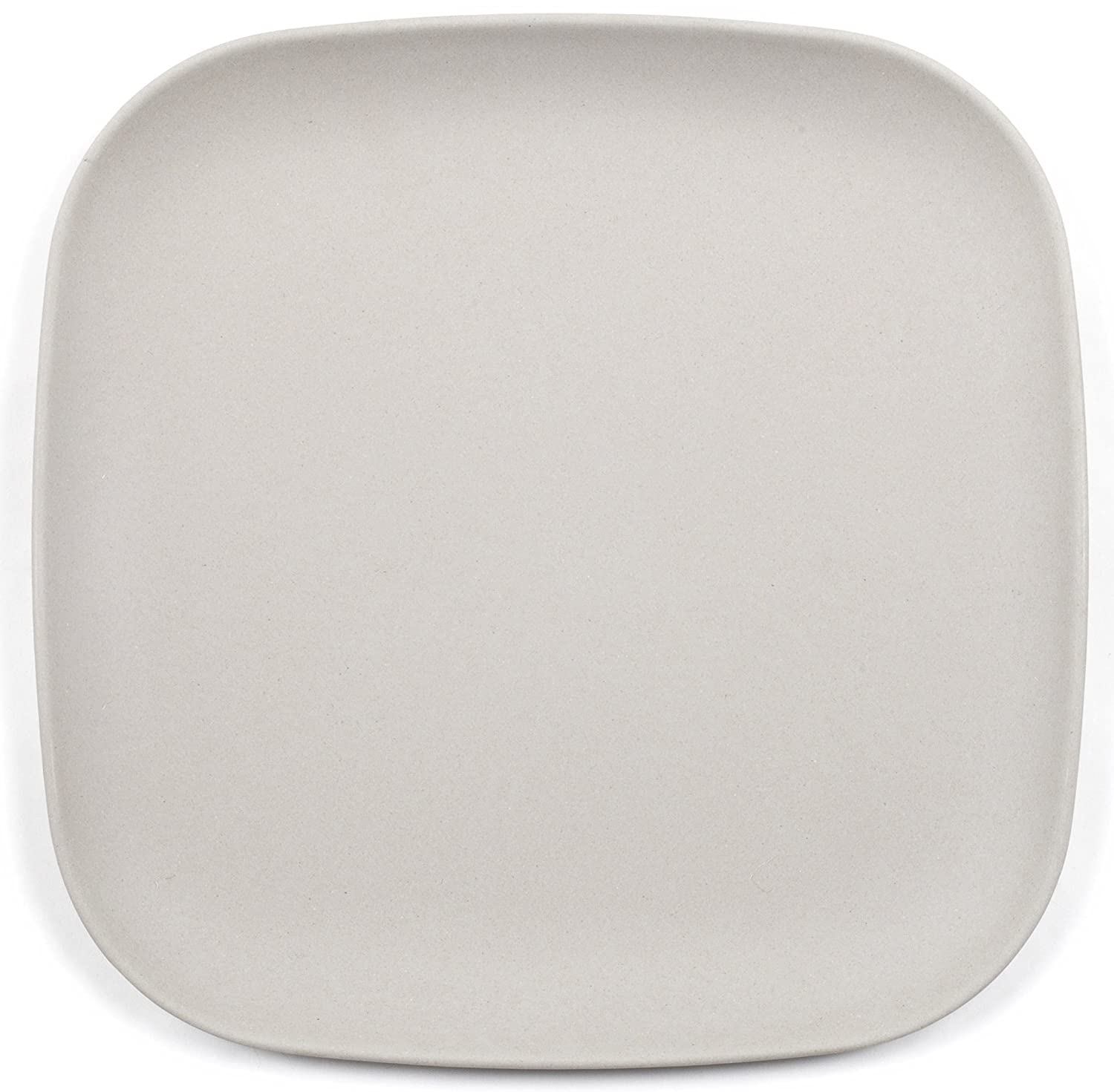 Bamboozle 7.5-inch Salad Plates, Light Grey, Set of 4 by Bamboozle SR21224G