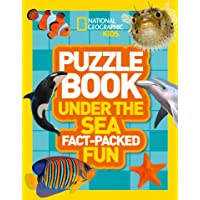 National Geographic Kids Puzzle Books - Puzzle Book Under The Sea: Brain-tickling Quizzes, Sudokus, Crosswords And Wordsearches