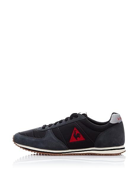 Le Coq Sportif Zapatillas Bolivar Negro/Rojo EU 46: Amazon.es: Zapatos y complementos