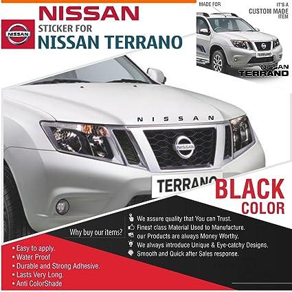 Nissan Sticker Black Amazon In Car Motorbike