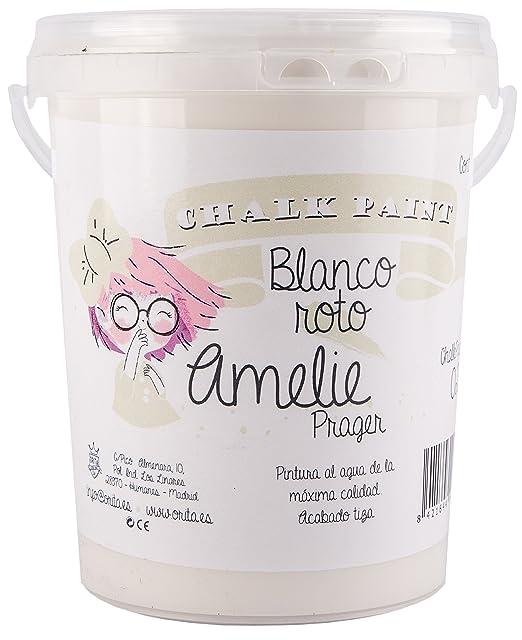 Amelie Prager 3000-02 Pintura a la Tiza chalk, Blanco Roto, 3 l