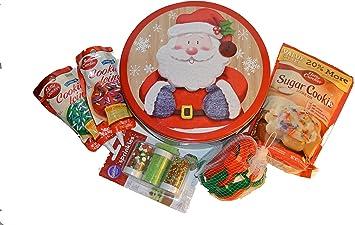 Christmas Cookie Decorating Kit.Amazon Com Christmas Sugar Cookie Decorating Kit Grocery