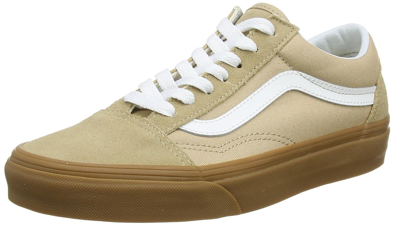 Vans Unisex Old Skool Skate Shoe 9.5 M UK|Sesame/Gum