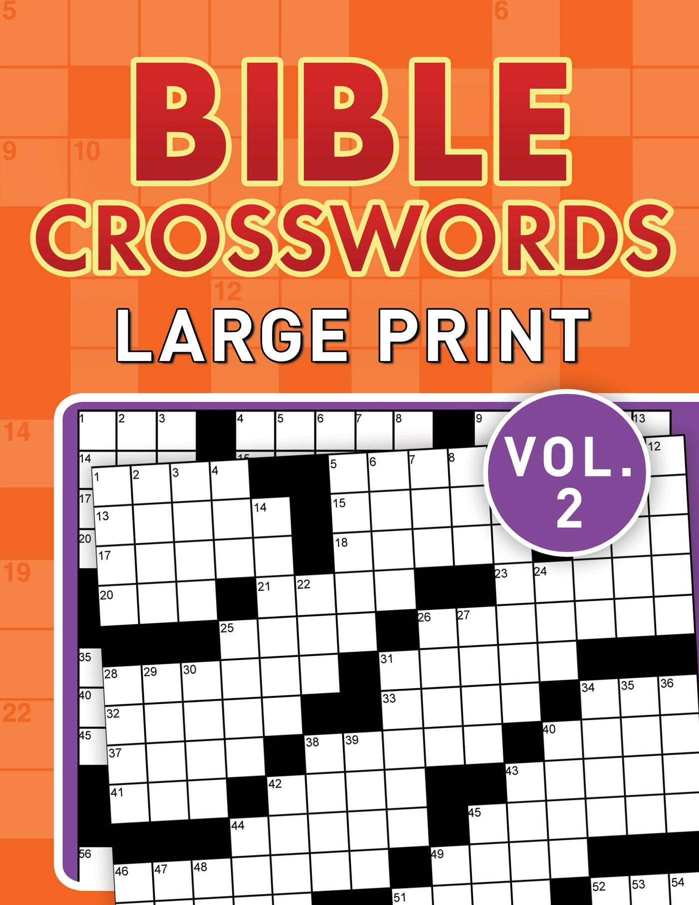 Read Online Bible Crosswords Large Print Vol. 2 PDF