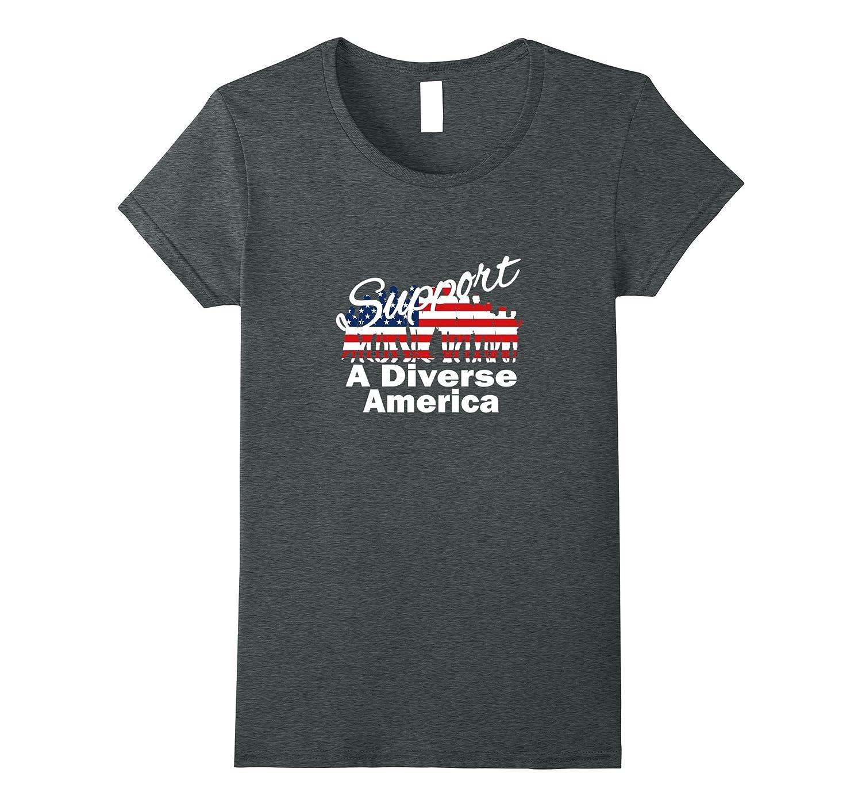 Political Activist Support A Diverse America Patriotic Shirt
