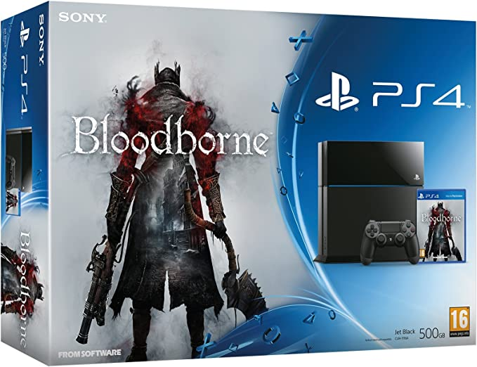 PlayStation 4 - Consola PS4 + Bloodborne: Amazon.es: Videojuegos