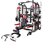 MiM USA Commercial Hercules 1001 Jumbo | Smith Machine & Functional Trainer | Power Cage | Leg Press | Dip Chin & Jammer…