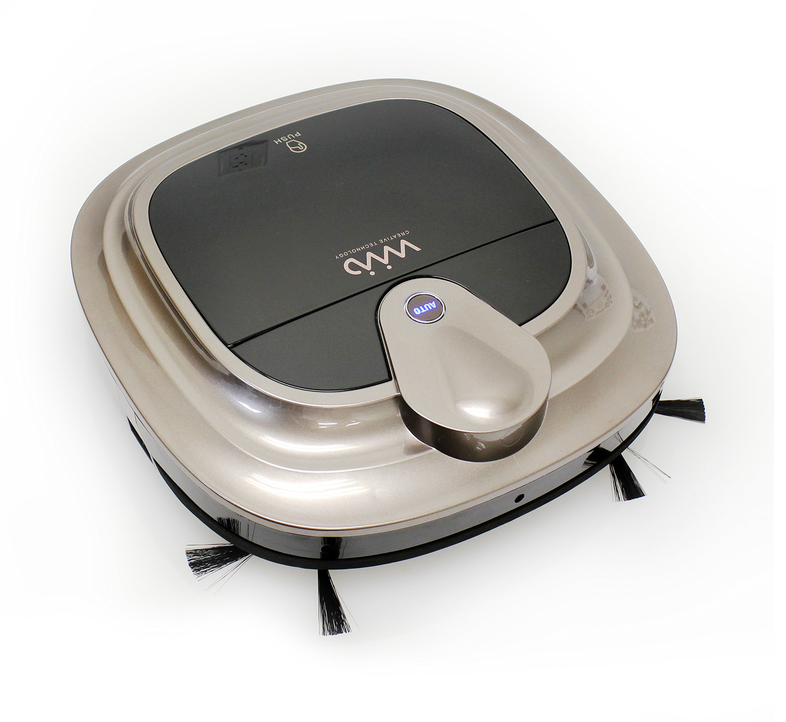VViViD Home Navigating Rechargeable Robotic Vacuum Cleaner w/Removeable Mop Attachement