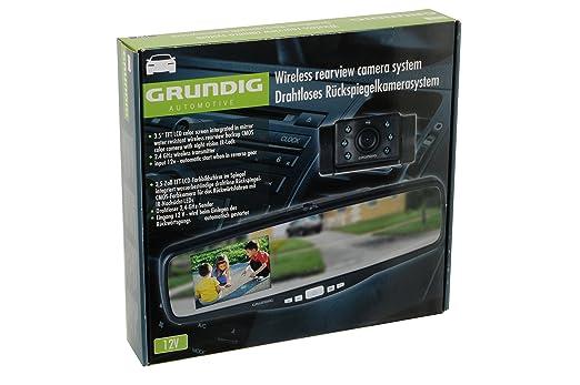 3 opinioni per Grundig Automotive 871129200261 Camera Retrovisore Wireless