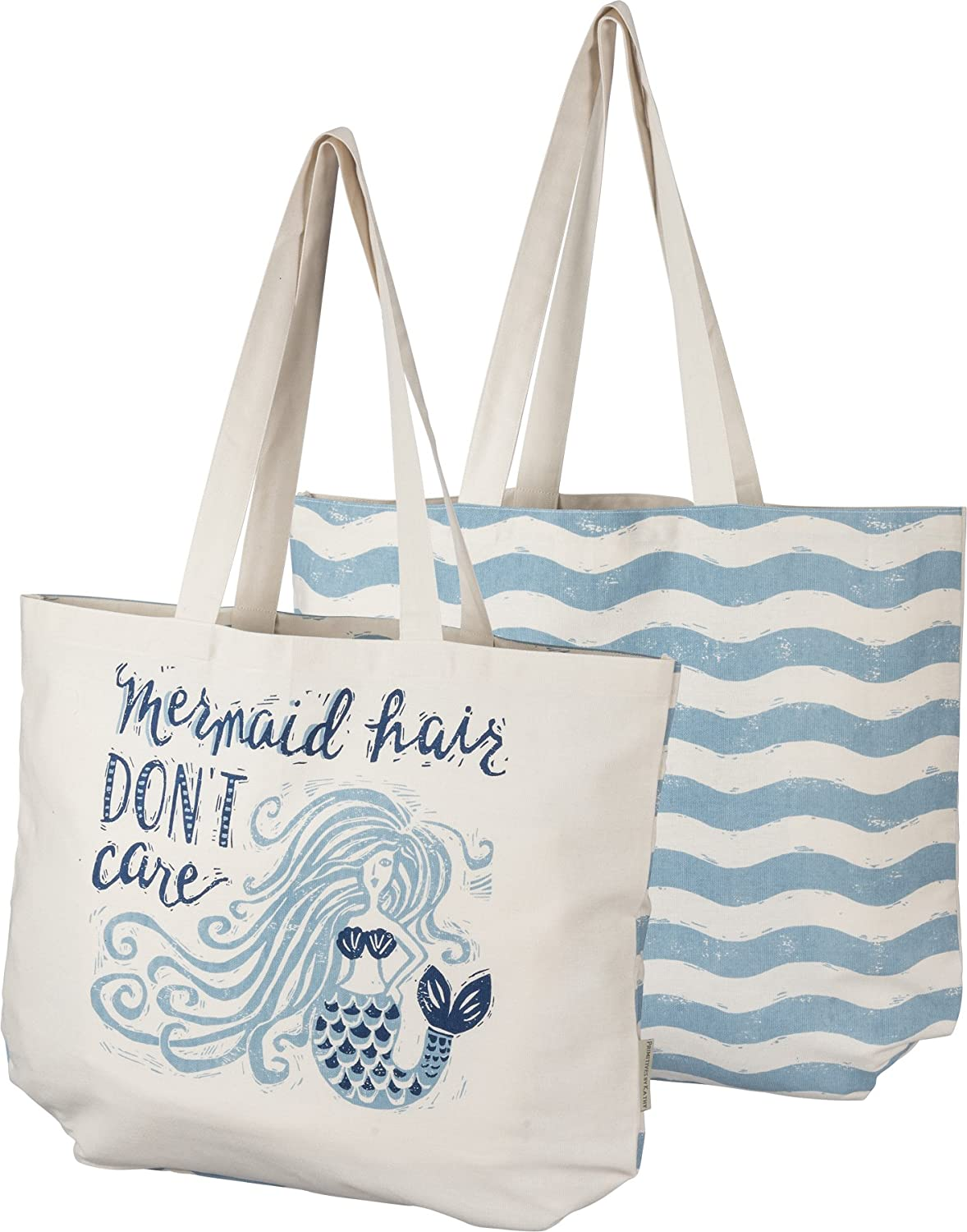 Primitives by Kathy Mermaid Hair Don't Care Tote Bag