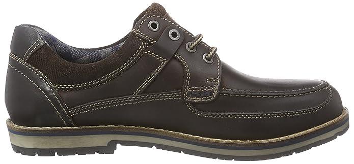 s.Oliver 13603, Derbies à Lacets Hommes - Marron - Braun (Mocca 304), 41  EU: Amazon.fr: Chaussures et Sacs