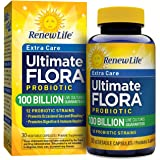 Renew Life - Ultimate Flora Probiotic Extra Care - 100 billion  - 30 vegetable capsules
