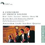 A Concorde Of Sweete Sounde - Music By Byrd, Tallis, Taverner Etc.