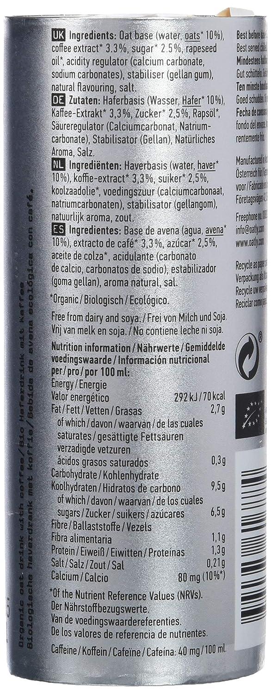 Oatly Caffé Latte, Bebida de café - 6 de 235 ml. (Total 1410 ml.): Amazon.es: Alimentación y bebidas