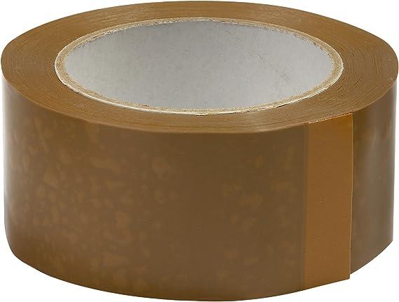 40/% de plus que les 66 m/ètres long ref UGRANH100-12 12 Rouleaux ruban adh/ésif emballage Marron havane pp silencieux Rouleau de 48 mm x 100 m/ètres