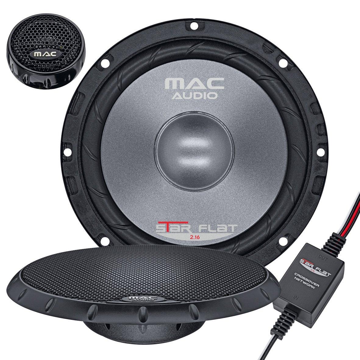 Mac Audio 1107133 Star Flat 13.2 - ultraflacher 2-Wege Koaxial Einbaulautsprecher Magnat Audio-Produkte GmbH