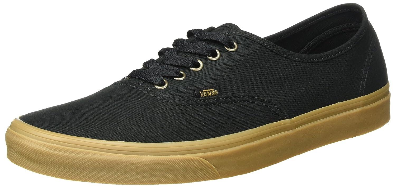 Vans Unisex-Erwachsene Authentic Sneaker  38.5 EU Schwarz (Light Gum)