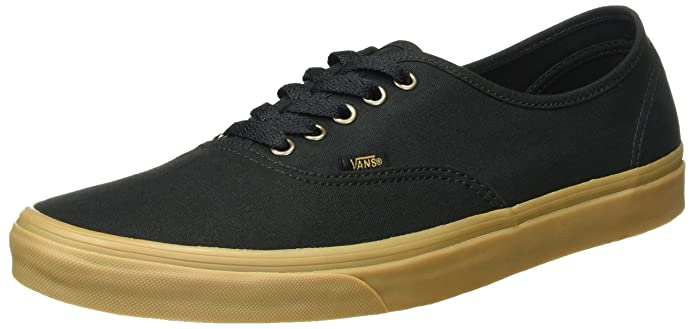 Vans Authentic Sneaker Erwachsene Unisex Schwarz Light Gum