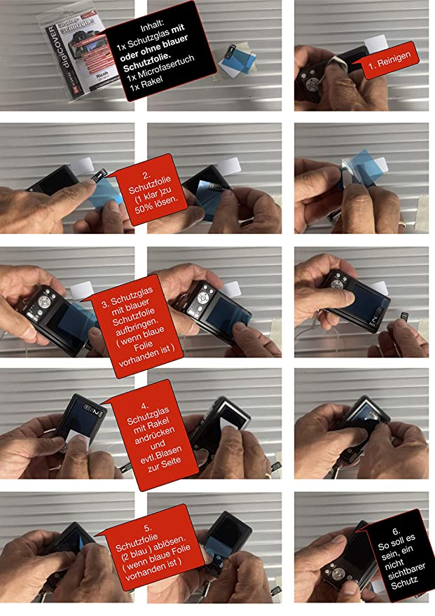 digiCOVER Hybrid Glass Display Protection Foil for Leica M